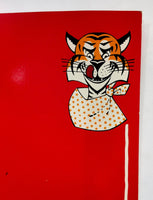 1960s Original Menu Hungry Tiger Restaurant WWII Ace Flying Tigers Southern Ca.