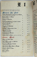 1970's Vintage Menu EL CID Mexican Restaurant Ensenada Mexico Baja California