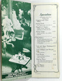 1983 Vintage Original Menu FAT CITY CAFE Restaurant Sacramento CA Fat Family
