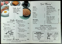 1959 Menu DUFFY'S RESTAURANT Pine Avenue Niagara Falls New York