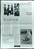 Original 1971 ROCKWELL NEWS In-House Newsletter APOLLO 14 Saturn V Negro History