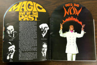 Vintage Magic Show Program ANDRE KOLE Christian Miracles or Stage Illusions ?