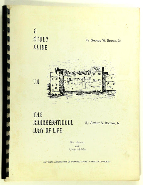 1965 Study Guide To The Congressional Way Of Life Arthur Rouner George Brown Jr