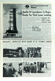 Vintage 1971 ROCKWELL NEWS In-House Newsletter APOLLO 14 Lunar Moon Countdown