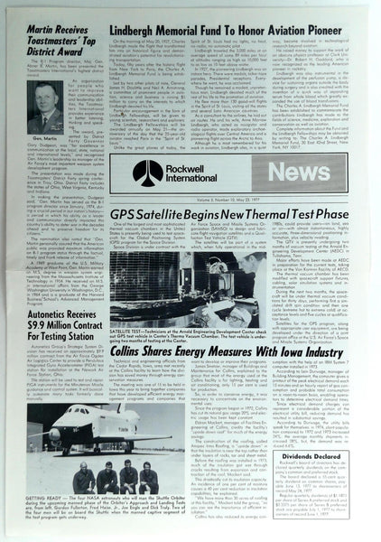 May 23 1977 ROCKWELL INTERNATIONAL NEWS B-1 Division Employee Newsletter