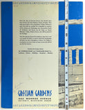 1967 Original Large Menu GRECIAN GARDENS Greek Restaurant Detroit Michigan