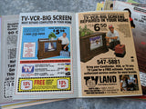 1988 Lot of 36 TV GUIDE Covers Orange County California TV REGISTER Newspaper