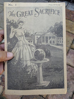1941 #1 Serial THE GREAT SACRIFICE Tragedy Of An Unwanted Bride Cora Sherman
