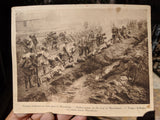 1917 WWI Packet Boat Menu Paquetbot CHICAGO Italian Army Troops Macedonia Photo
