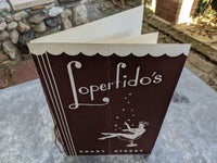 1940's Loperfido's Italian Restaurant Menu Rochester New York Loperfido Family