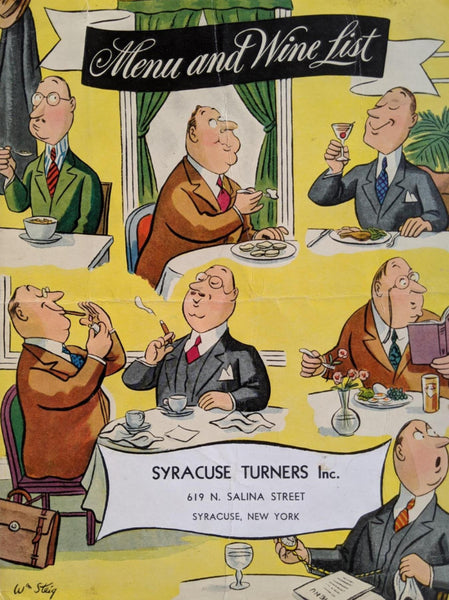 1940's Syracuse Turners Inc. Restaurant Syracuse New York Turn Verein Gymnastics