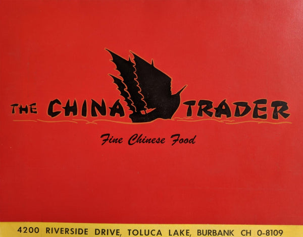 1950 The China Trader Polynesian Tiki Restaurant Toluca Lake Burbank California