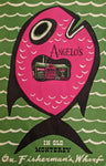 1971 Angelo's Restaurant Old Monterey Fisherman's Wharf California Vintage Menu