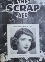 1948 The Scrap Age Metal Waste Recycling Newsletter Magazine Ricki Goldman
