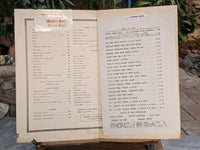 1971 Martin's Restaurant Washington DC Old Georgetown Vintage Menu