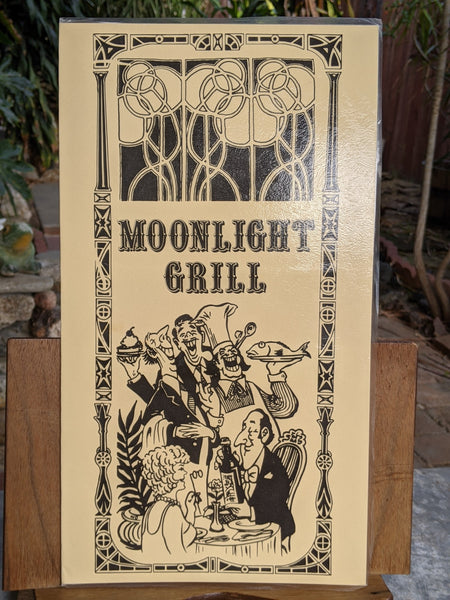 Moonlight Grill Restaurant Talk Of The Town Resort Hotel Menu Aruba Caribbean