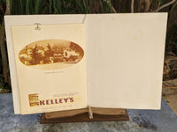 1955 The Original Kelley's Restaurant Corsican Room Vintage Menu Houston Texas
