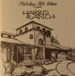 1982 Harris Ranch Holiday Gift Ideas Booklet Catalog Coalinga California