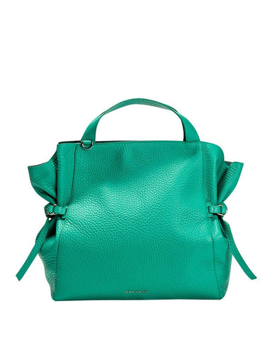Orciani - green tote bag