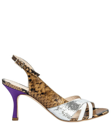 Gia Couture - Snake print Sandals