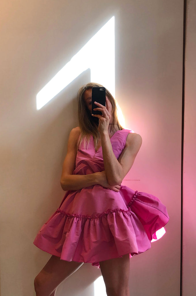 n21_pink_ruffled_dress_tozzibologna