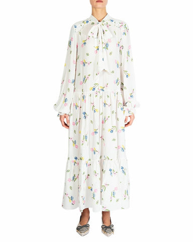Vivetta - Flower print long dress