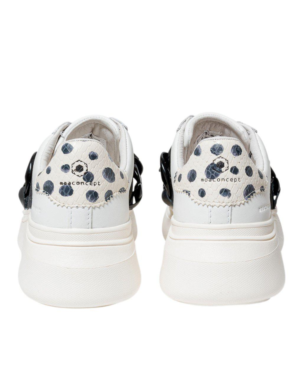 SLIP-ON CHAIN SNEAKERS