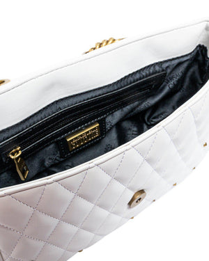 SHOULDER QUILTED BAG WITH STUDS