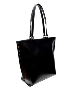 TOTE BAG WITH CHAIN DETAIL