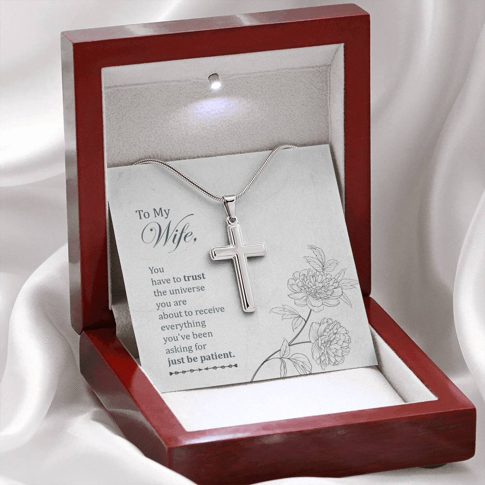 Artisan Crafted Cross Necklace - Fashion Factorys