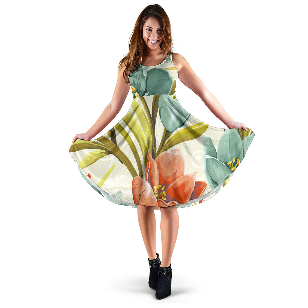 Lovely Flowers Women's Dress - Fashion Factorys