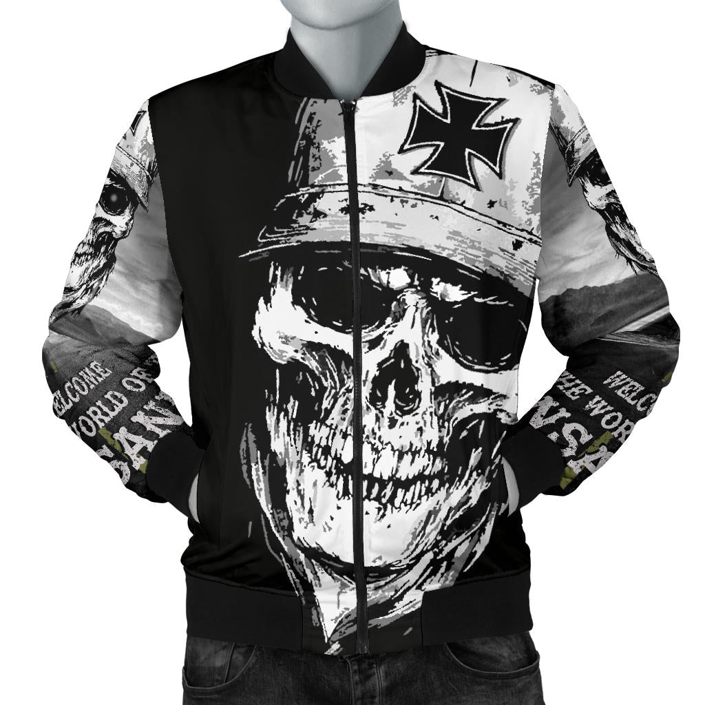 INSANOS Member Bomber Jacket - Fashion Factorys