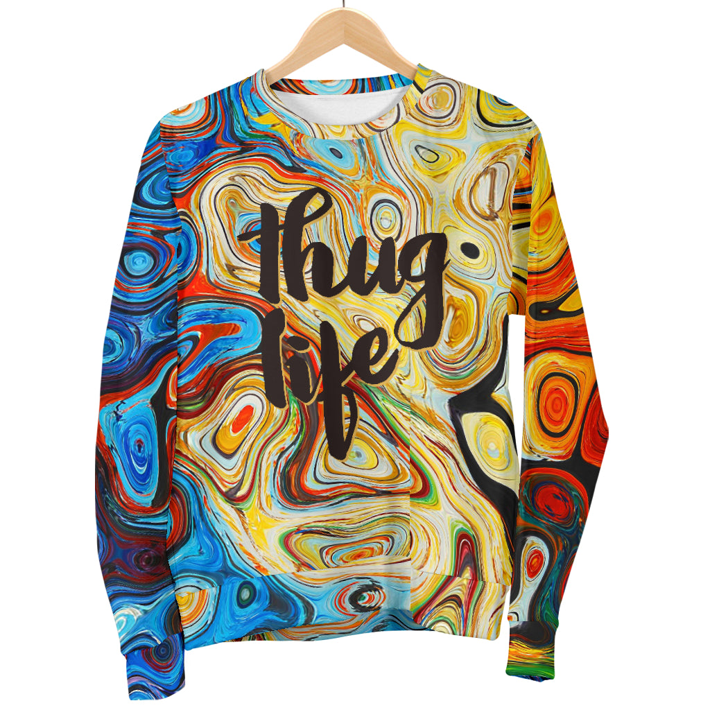 Men's Thug Life Sweater - Fashion Factorys