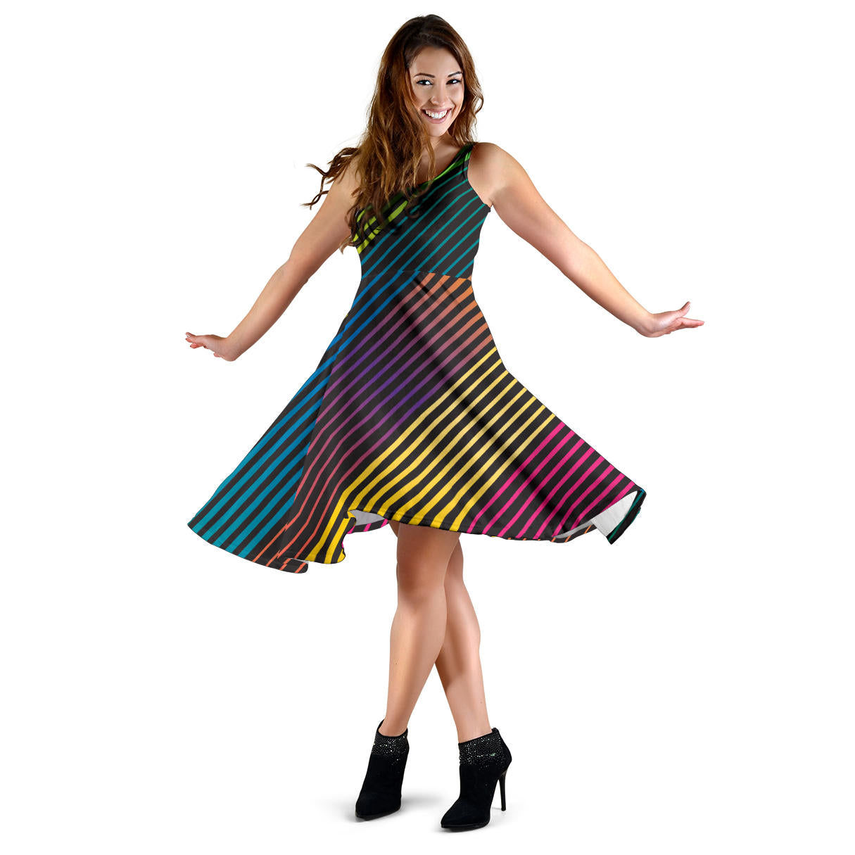 Party Lights On Women's Dress - Fashion Factorys