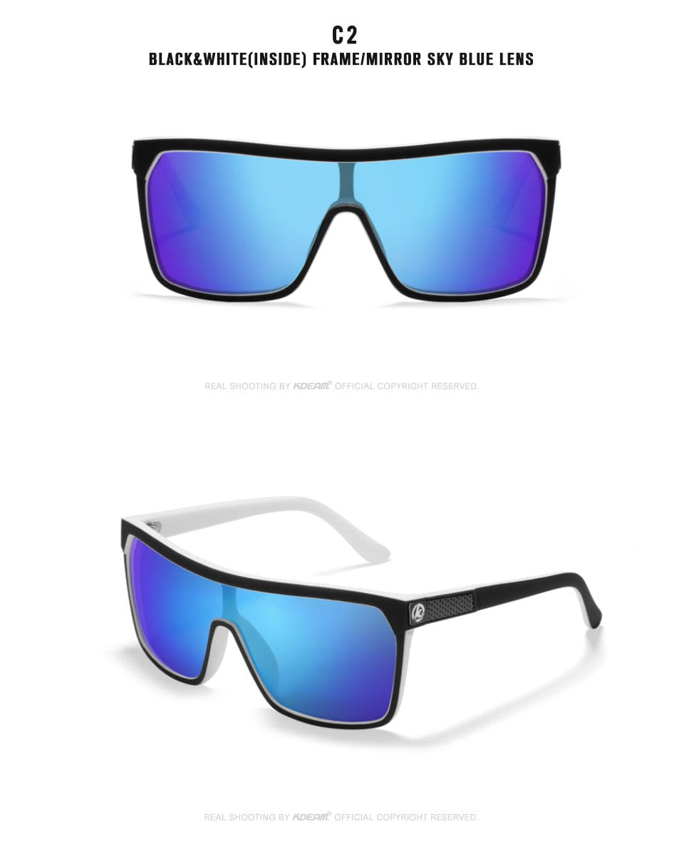 Polarized Elastic Paint Surface SunGlasses