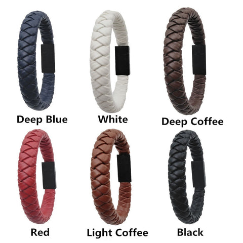 Portable Leather USB Bracelet