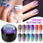 Thermal Magic Effect Nail Varnish Gel Soak