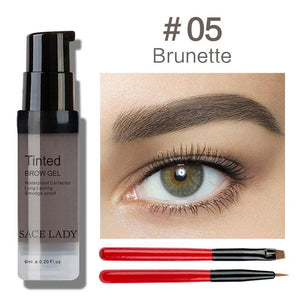 WATERPROOF LONG LASTING EYEBROWS TINT KIT