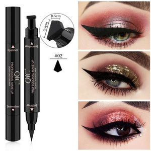 SIMPLEE™ WINGED EYELINER STAMP PEN (2-IN-1) - Fashion Factorys