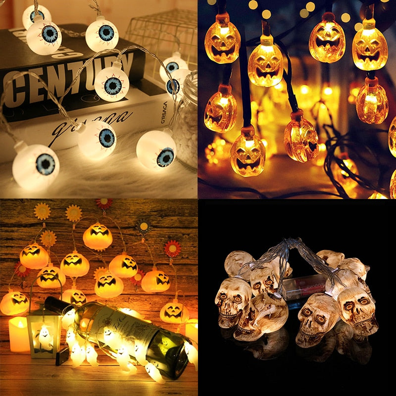 Led Halloween Light String - Fashion Factorys