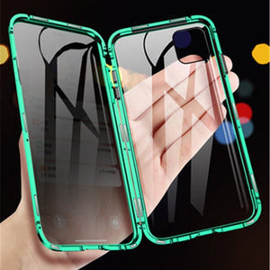 Sleek Protective Phone Case with Privacy Features Suitable for iPhone