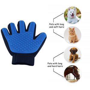 Pets grooming gloves
