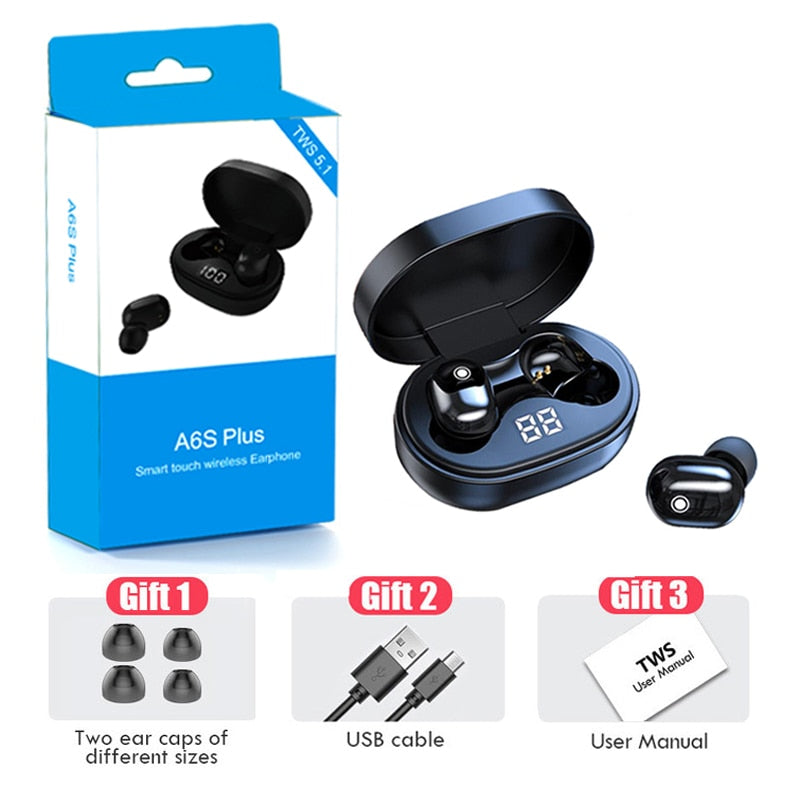 Wireless Bluetooth Noise Cancelling Earbuds