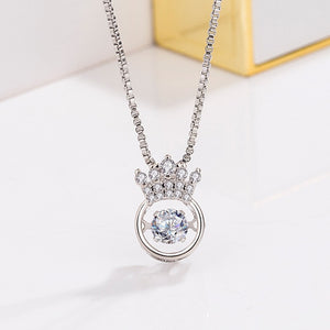 QueenBe -Crown Necklace - Fashion Factorys