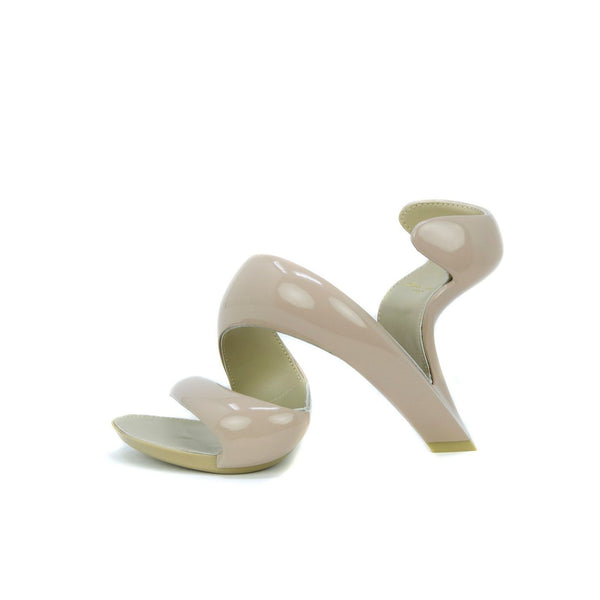 Julian Hakes Nude Patent Leather Mojito Shoe