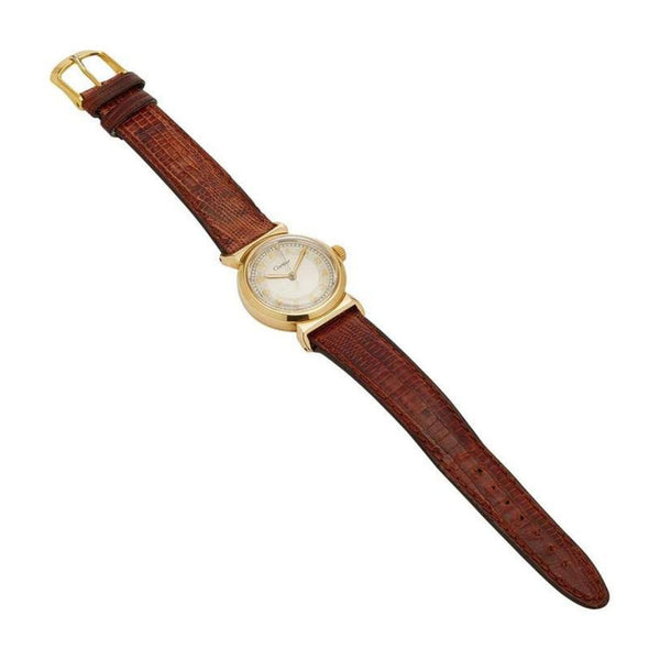 Cartier Yellow Gold Unisex Watch