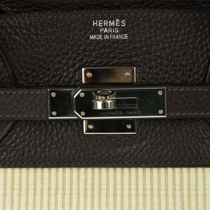Hermes Birkin Bag 35cm Chocolate Togo Crinolin PHW