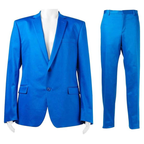 VERSACE COLLECTION BLUE SUIT (as seen on JUSTIN)