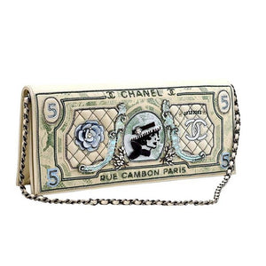 Chanel Runway Limited Edition Dollar Clutch Bag, 2014 / 2015
