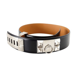 Hermes Belt CDC Collier de Chien Black Palladium
